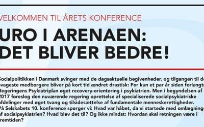Konference 2017 – Uro i arenaen: Det bliver bedre!