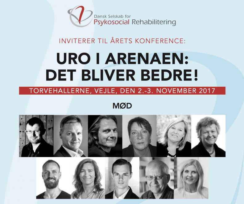 Konferenceprogram: Uro i arenaen: Det bliver bedre!