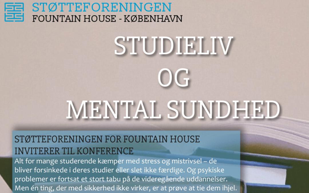 Invitation til konference: Studieliv og mental sundhed