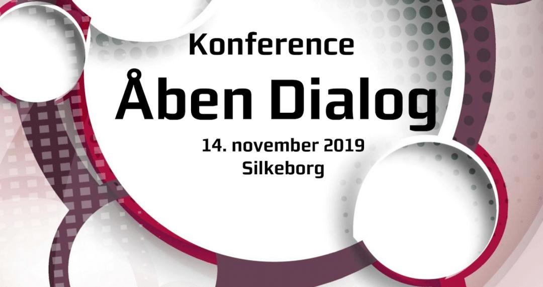 Region Midtjylland inviterer til Åben Dialog-konference 14. november i Silkeborg