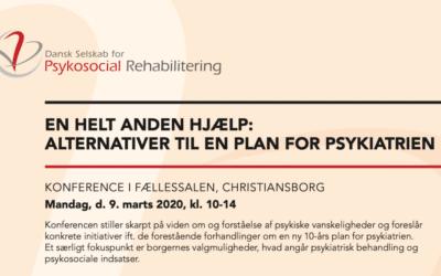 En helt anden hjælp: Vi inviterer til konference på Christiansborg
