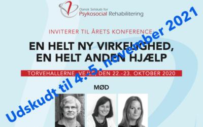 En helt ny virkelighed, en helt anden hjælp: Konferencen er udskudt til 4.-5. november 2021