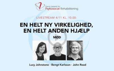 Livestream 4. november: Internationale eksperter om recovery, traumer og menneskerettigheder